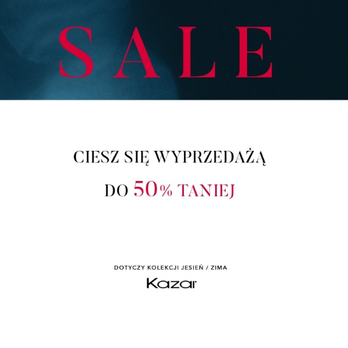 f2027b70 Odwiedź salon Kazar i przy zakupie dwóch produktów z kategorii promocyjnych,  skorzystaj z rabatu 50% na drugi produkt.