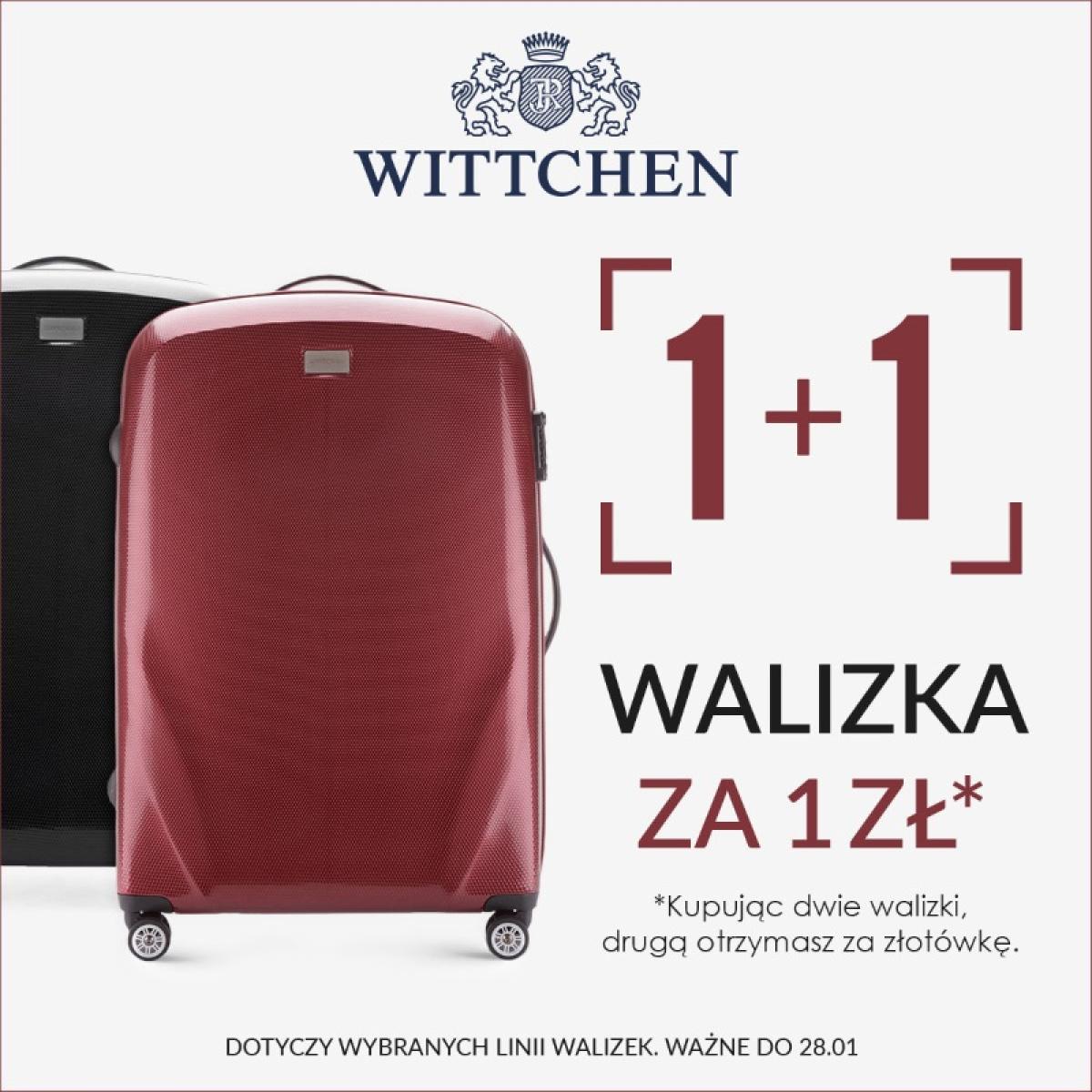 a4d55db8369c1 Walizka za 1 zł w Wittchen