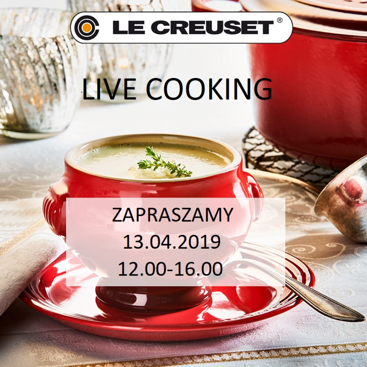Le Creuset - Live Cooking