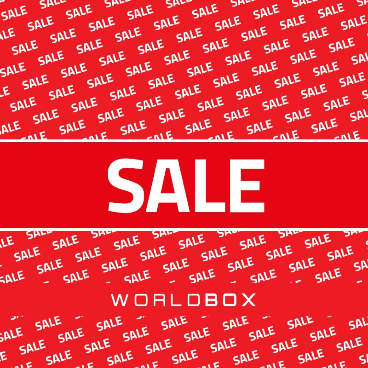 SUMMER SALE W WORLDBOX