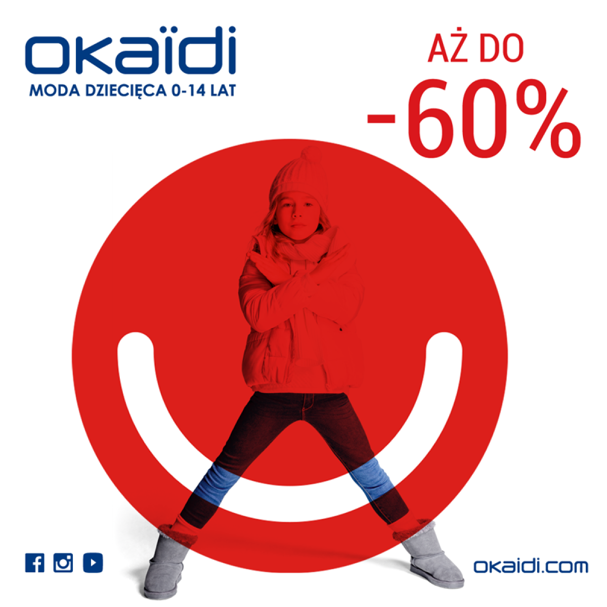AŻ DO -60% W OKAIDI