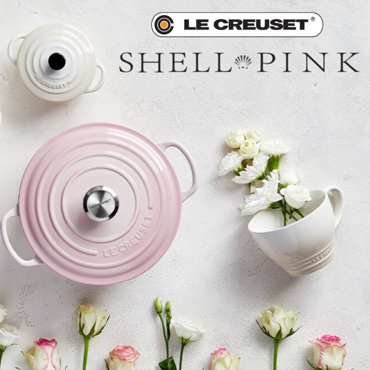Le Creuset - Shell Pink