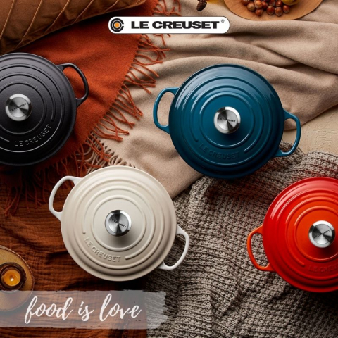 Le Creuset - Food is Love