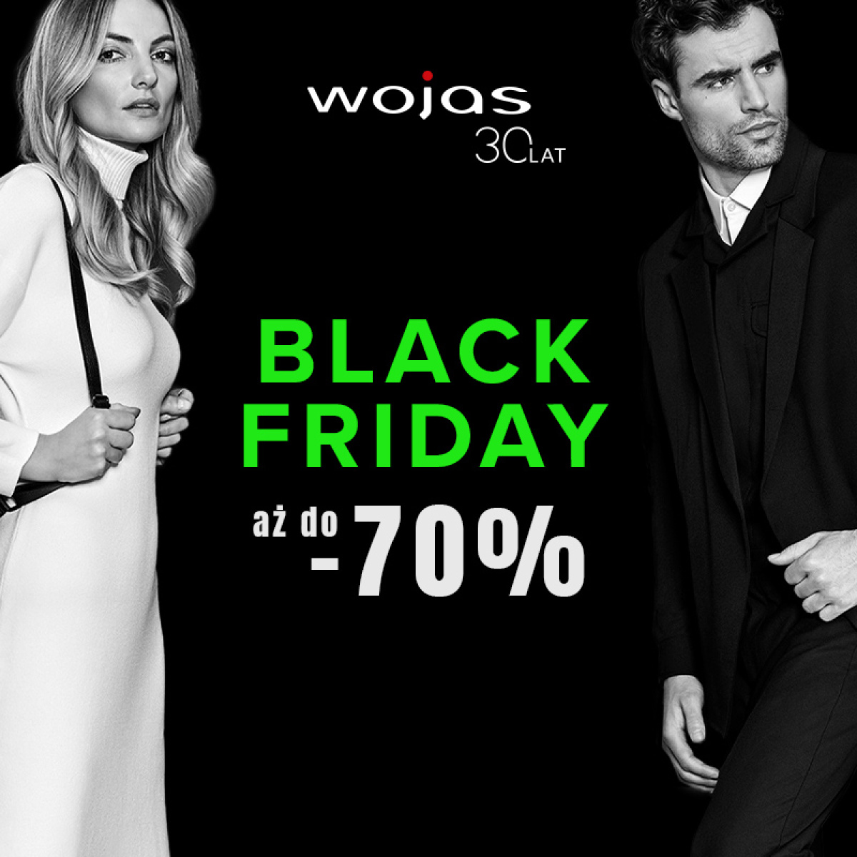 BLACK FRIDAY w WOJAS !!!